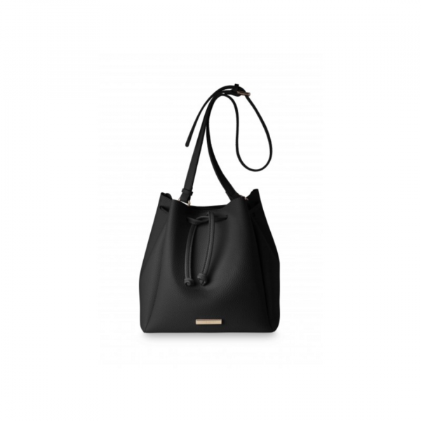 KATIE LOXTON BLACK CHLOE BUCKET BAG
