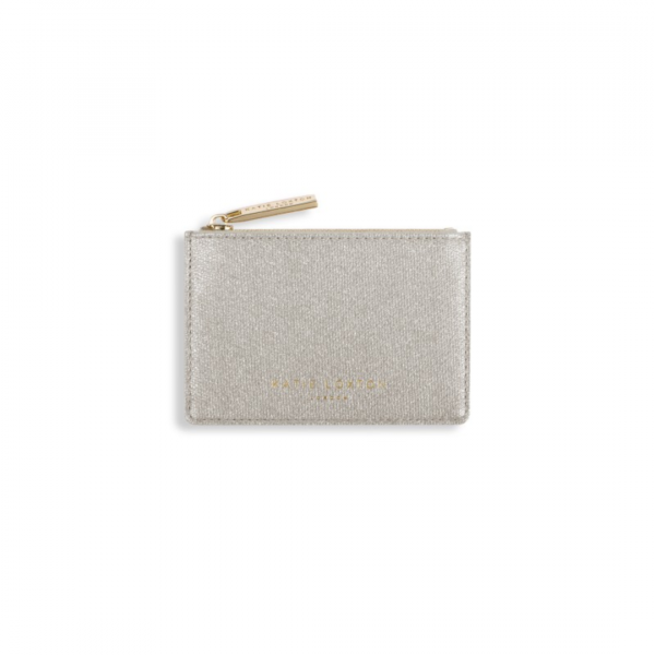 KATIE LOXTON CHAMPAGNE ALEXA METALLIC CARD HOLDER