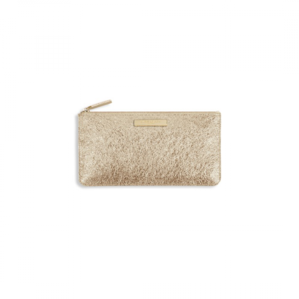 KATIE LOXTON GOLD MARCIE PENCIL CASE