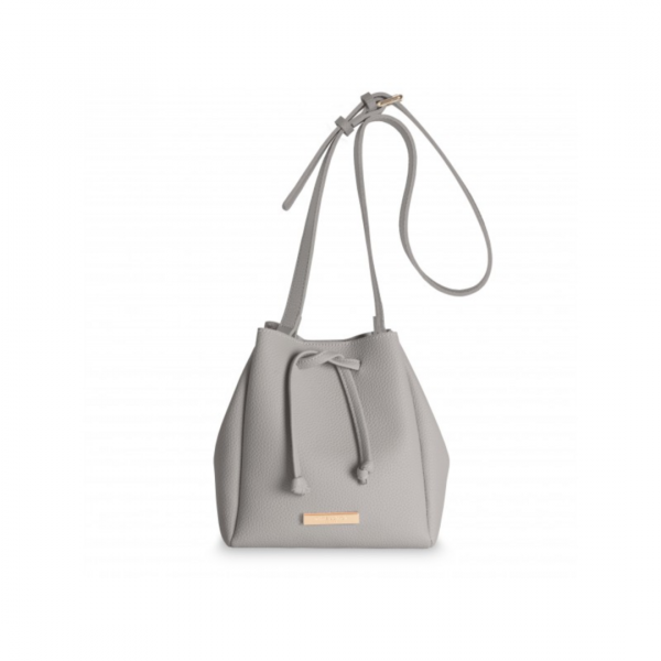 KATIE LOXTON GREY MINI CHLOE BUCKET BAG