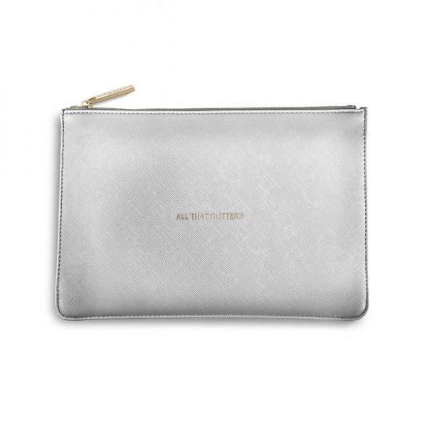 KATIE LOXTON PERFECT POUCH - ALL THAT GLITTERS