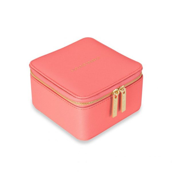 KATIE LOXTON SQUARE JEWELRY BOX - LIVE LOVE SPARKLE