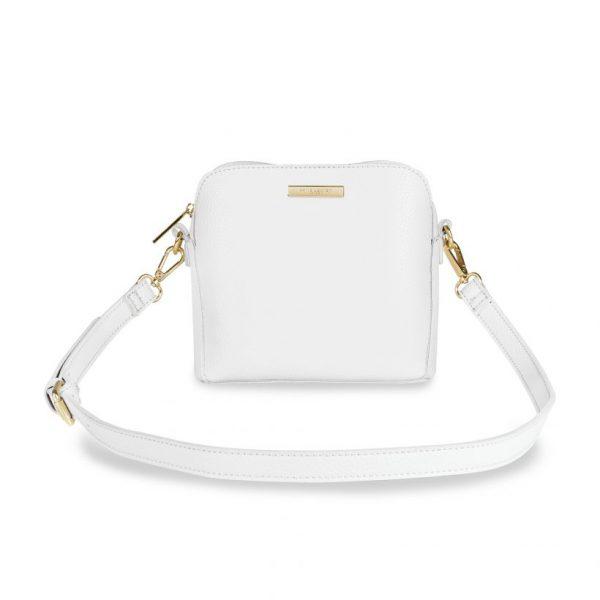 KATIE LOXTON WHITE BELLA BOX BAG