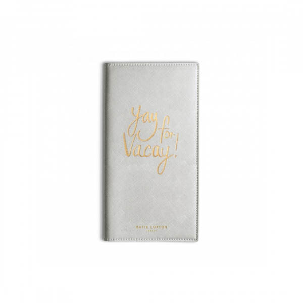 KATIE LOXTON YAY FOR VACAY TRAVEL WALLET