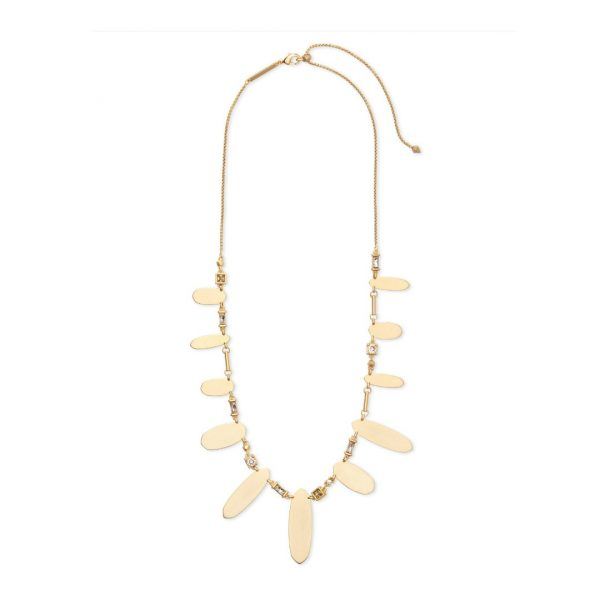 KENDRA SCOTT AIRELLA NECKLACE IN GOLD