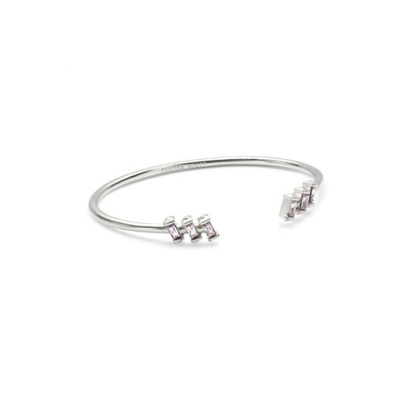 KENDRA SCOTT AMAYA BRACELET IN RHODIUM