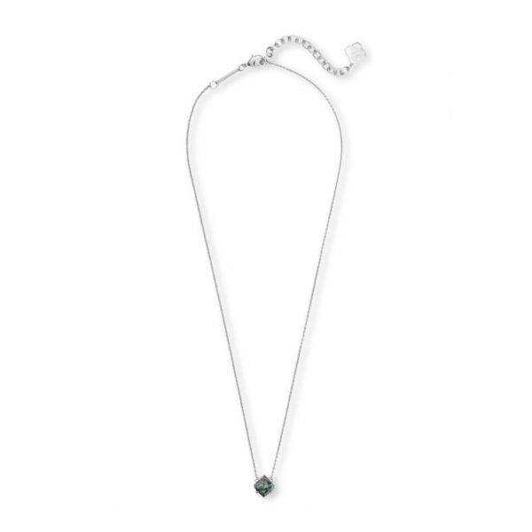 KENDRA SCOTT ANNALIESE NECKLACE IN RHODIUM