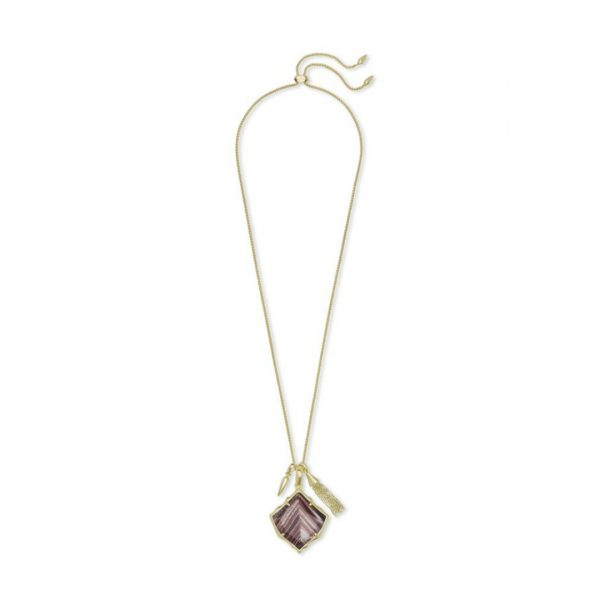 KENDRA SCOTT ARLET NECKLACE IN GOLD