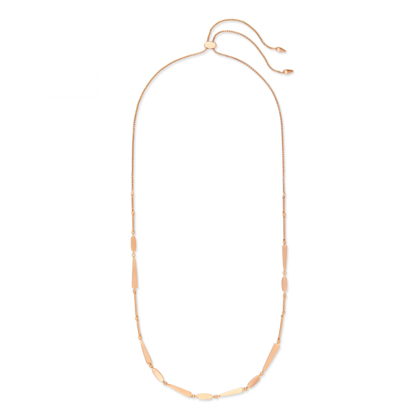 KENDRA SCOTT AVA NECKLACE IN ROSE GOLD