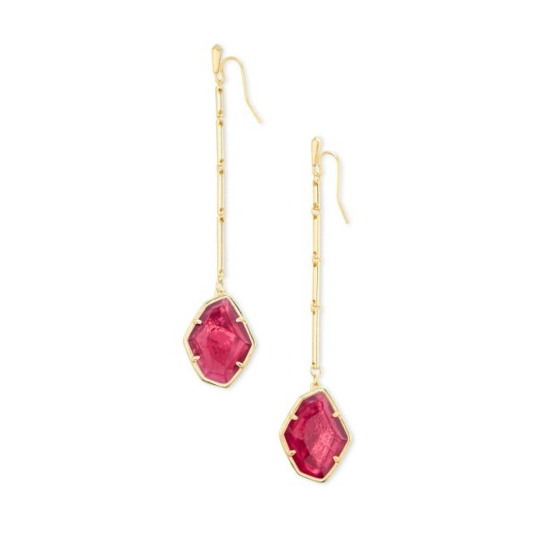 KENDRA SCOTT CHARMAIN EARRINGS IN GOLD