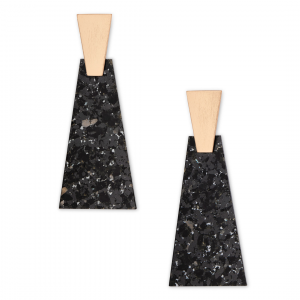 KENDRA SCOTT COLLINS LARGE EARRINGS IN ROSE GOLD