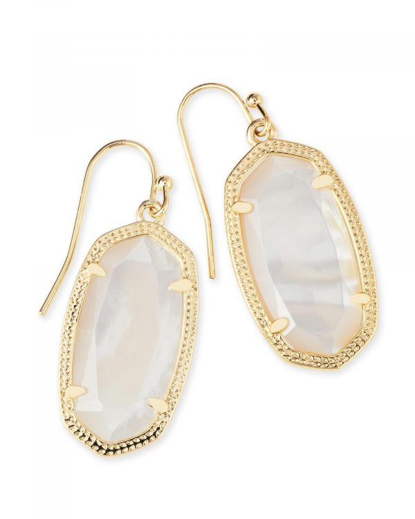 KENDRA SCOTT DANI EARRINGS IN GOLD