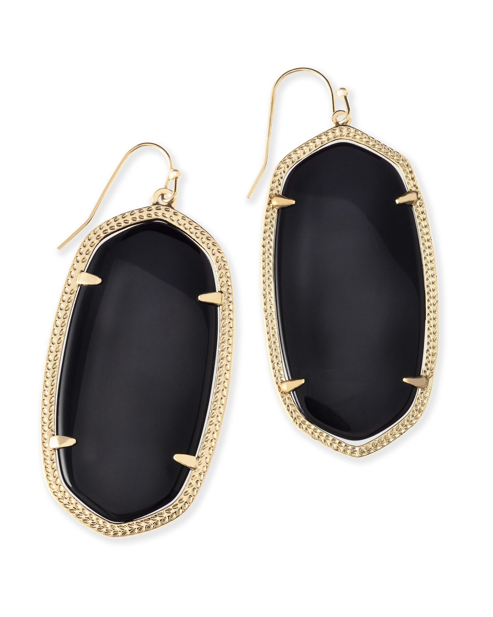 KENDRA SCOTT DANIELLE EARRINGS IN GOLD