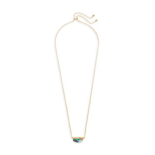 KENDRA SCOTT DEAN NECKLACE IN GOLD