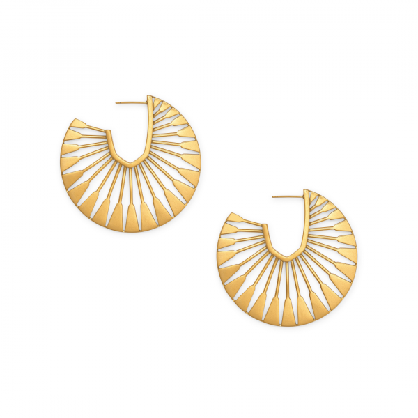 KENDRA SCOTT DEANNE EARRINGS IN VINTAGE GOLD