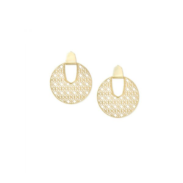 KENDRA SCOTT DIANE FILIGREE EARRINGS