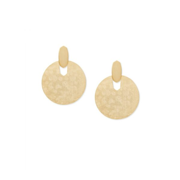 KENDRA SCOTT DIDI EARRINGS IN GOLD