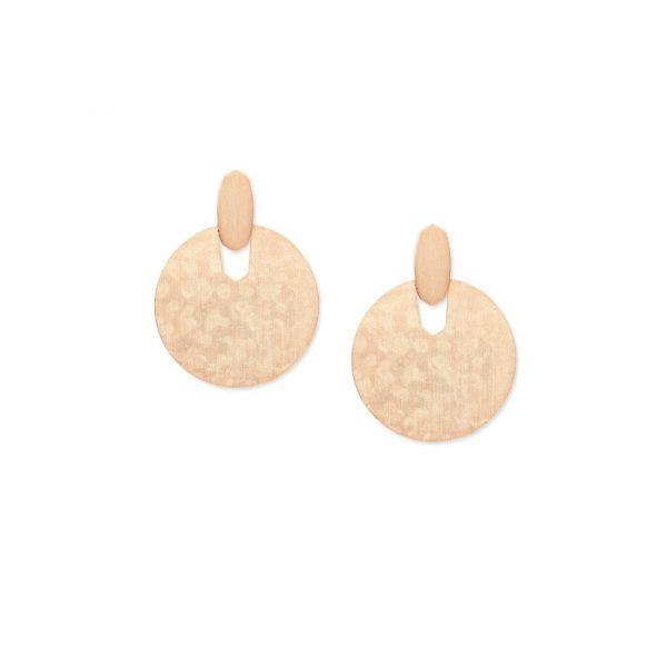 KENDRA SCOTT DIDI EARRINGS IN ROSE GOLD