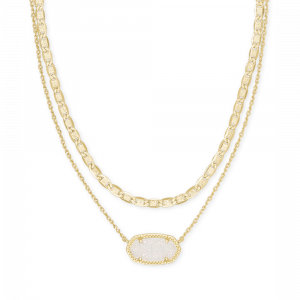 KENDRA SCOTT ELISA MULTI STRAND NECKLACE IN GOLD