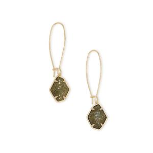 KENDRA SCOTT ELLINGTON EARRINGS IN GOLD