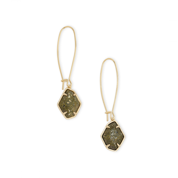 KENDRA SCOTT ELLINGTON EARRINGS IN GOLD