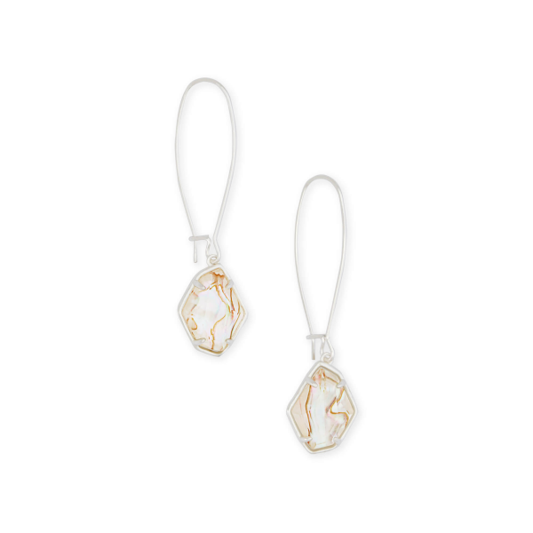 KENDRA SCOTT ELLINGTON EARRINGS IN SILVER