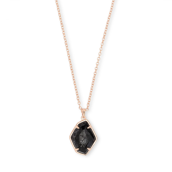 KENDRA SCOTT ELLINGTON SHORT NECKLACE IN ROSE GOLD