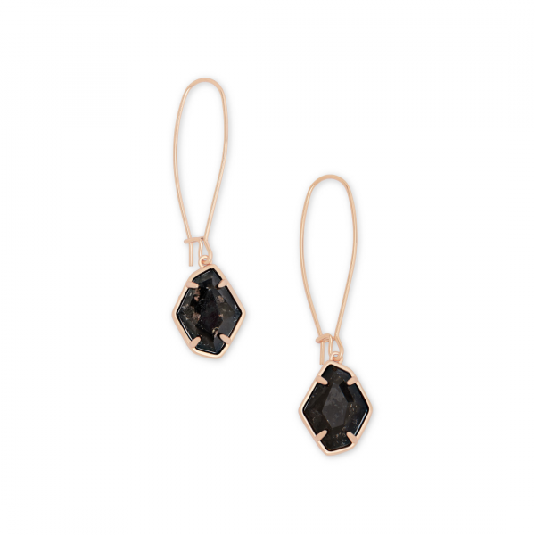 KENDRA SCOTT ELLINTON EARRINGS IN ROSE GOLD