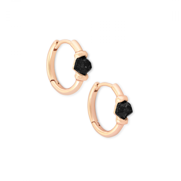 KENDRA SCOTT ELLMS HUGGIES IN ROSE GOLD