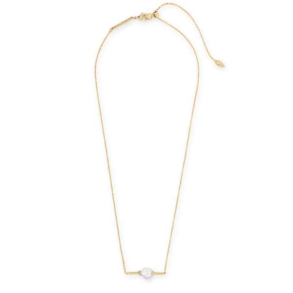 KENDRA SCOTT EMBERLY NECKLACE IN GOLD