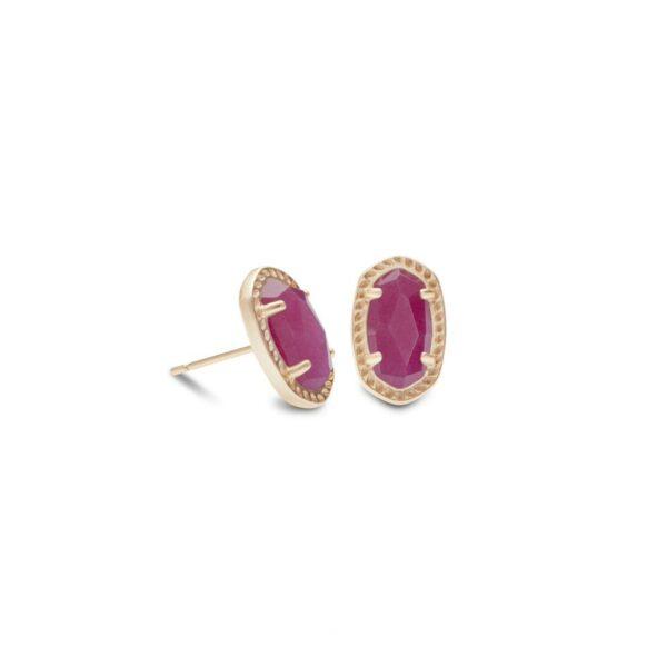 KENDRA SCOTT EMERY EARRINGS IN ROSE GOLD