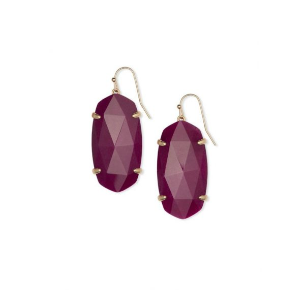 KENDRA SCOTT ESME EARRINGS IN ROSE GOLD