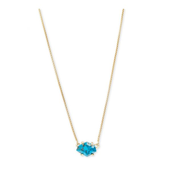 KENDRA SCOTT ETHAN NECKLACE IN GOLD