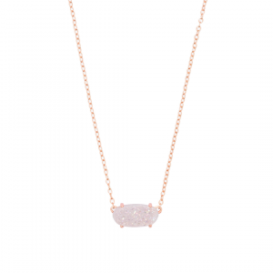 KENDRA SCOTT EVER NECKLACE IN ROSE GOLD