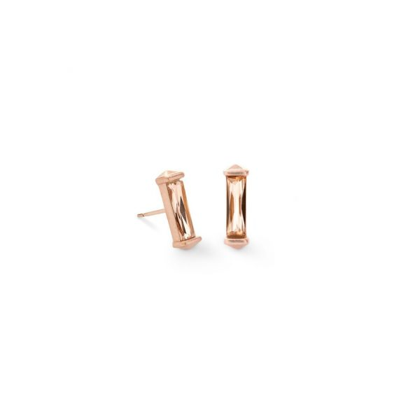 KENDRA SCOTT FLETCHER EARRINGS IN ROSE GOLD