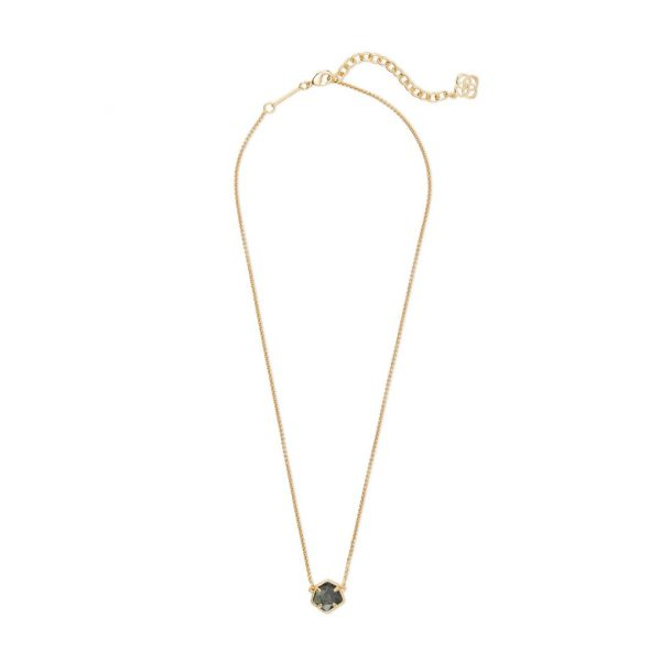 KENDRA SCOTT JAXON NECKLACE IN GOLD
