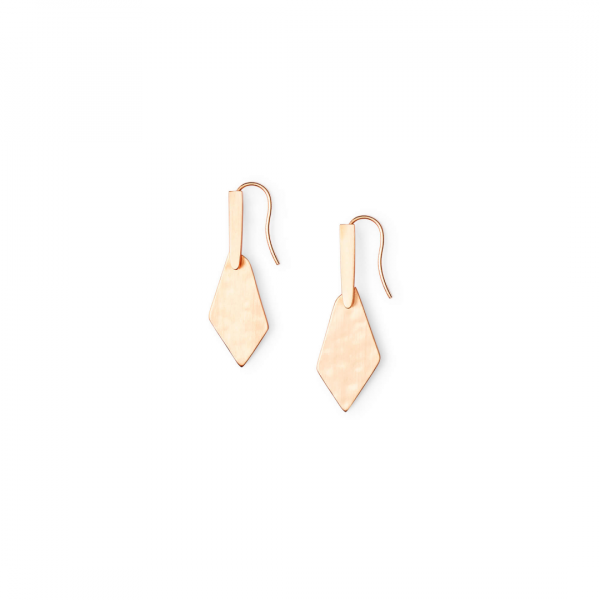 KENDRA SCOTT JEWELRY GIANNA EARRINGS IN ROSE GOLD