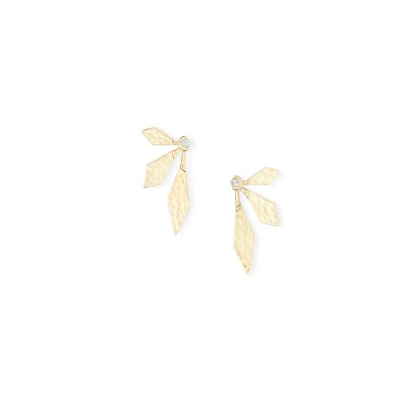 KENDRA SCOTT JEWELRY JAYDEN EARRINGS IN GOLD