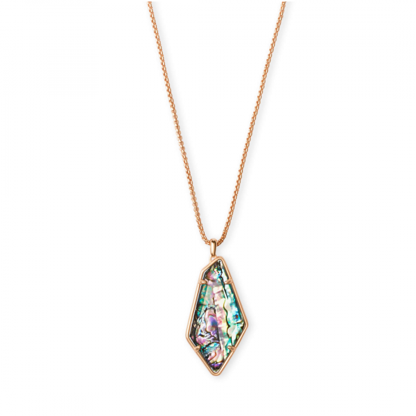 KENDRA SCOTT JEWELRY LILITH NECKLACE IN ROSE GOLD