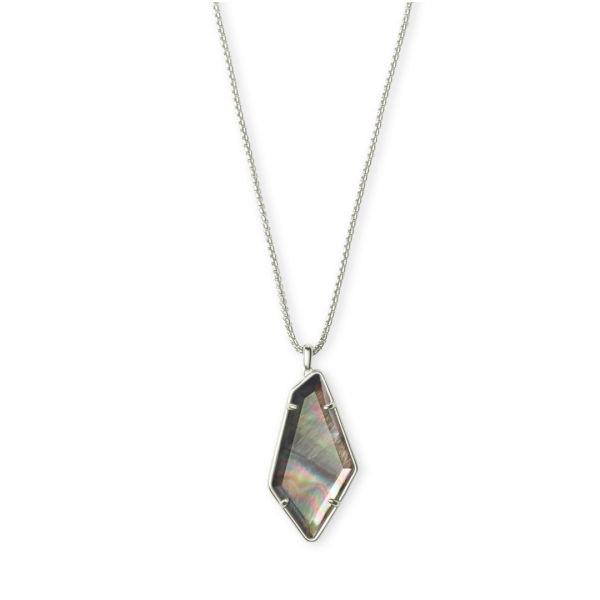 KENDRA SCOTT JEWELRY LILITH NECKLACE IN SILVER