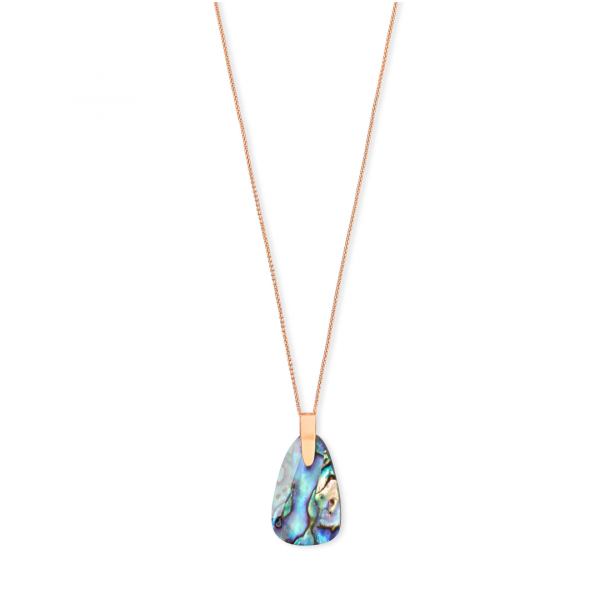KENDRA SCOTT JEWELRY MAEVE NECKLACE IN ROSE GOLD