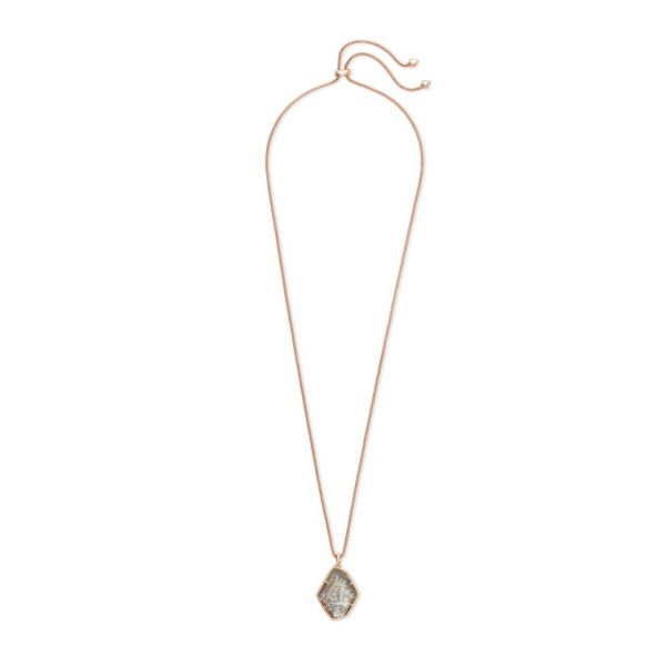 KENDRA SCOTT KALANI NECKLACE IN ROSE GOLD