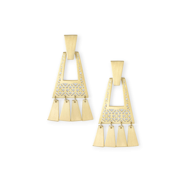KENDRA SCOTT KASE SMALL EARRINGS IN GOLD