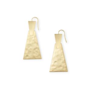 KENDRA SCOTT KEERTI SMALL EARRINGS IN GOLD