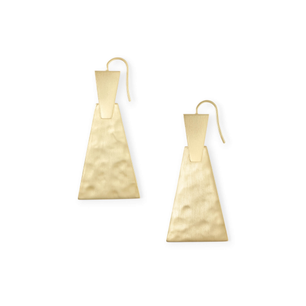 KENDRA SCOTT KEERTI SMALL EARRINGS IN GOLD