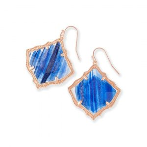 KENDRA SCOTT KIRSTEN EARRINGS IN ROSE GOLD