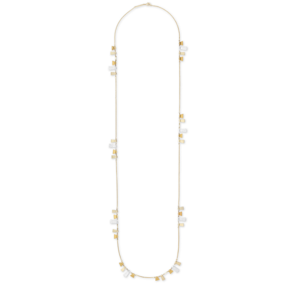 KENDRA SCOTT LYNNE LONG NECKLACE IN MIXED METALS