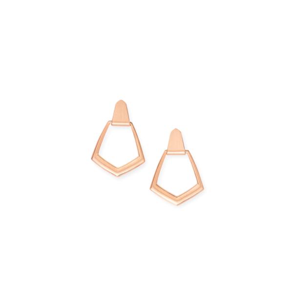 KENDRA SCOTT PAXTON EARRINGS IN ROSE GOLD