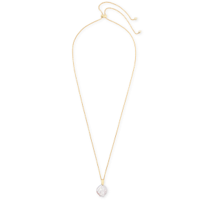 KENDRA SCOTT PRISCILLA NECKLACE IN GOLD