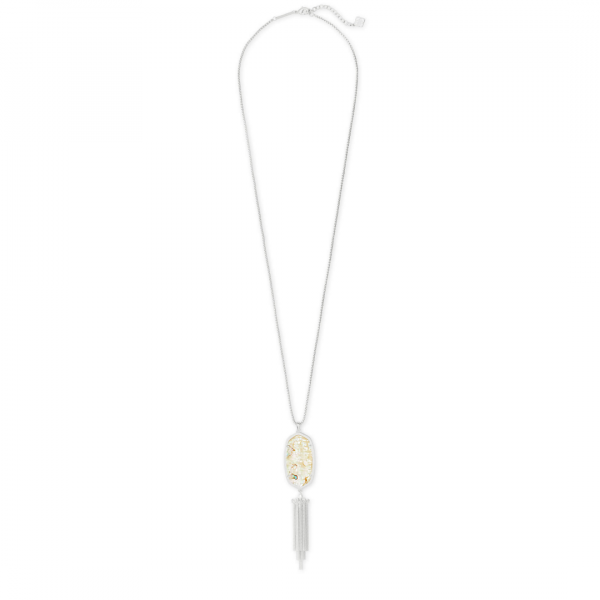 KENDRA SCOTT RAYNE NECKLACE IN SILVER